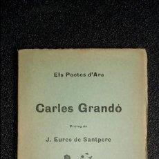 Libros: POESÍA CATALANA. CATALUNYA. CATALUÑA.. Lote 125192371