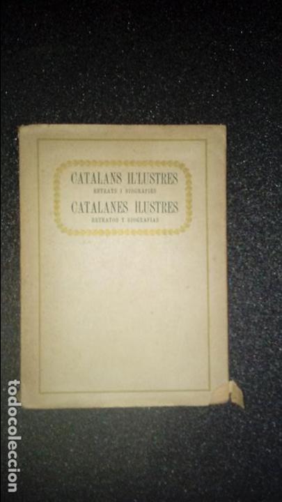 CATALUÑA. CATALÁN. CATALUNYA. BIOGRAFÍAS DE CATALANES ILUSTRES. (Libros Nuevos - Idiomas - Catalán )