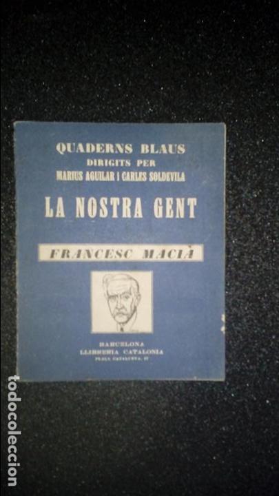 CATALÁN. BIOGRAFÍA DE MACIÁ. CATALUÑA. CATALUNYA. (Libros Nuevos - Idiomas - Catalán )