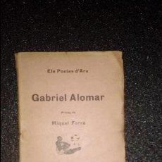 Libros: CATALUNYA. POESIA CATALANA. LITERATURA CATALANA. CATALUÑA.. Lote 126368335