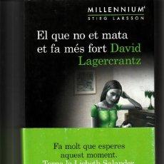Libros: LIBRO, EL QUE NO ET MATA ET FA MES FORT. Lote 169172996