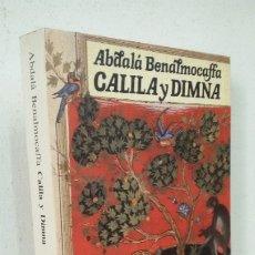 Livres: CALILA Y DIMNA ABDALA BENALMOCAFFA. Lote 178042534
