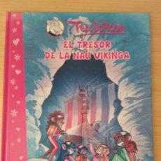 Libros: TEA STILTON. EL TRESOR DE LA NAU VIKINGA. CATALÁN NUEVO. Lote 178774757