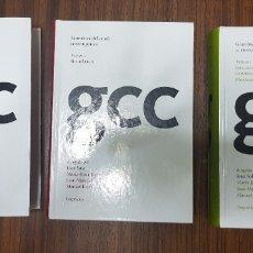 Livres: GRAMÀTICA DEL CATALÀ CONTEMPORANI. 3 VOLUMS. JOAN SOLÀ. EMPÚRIES. 2002. FONÈTICA, MORFOLOGI, SINTAXI. Lote 180903152