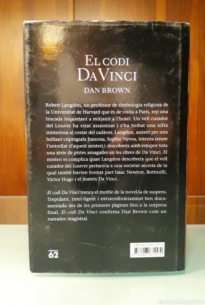 Libros: El codi Da Vinci Dan Brown - Foto 3 - 181216648