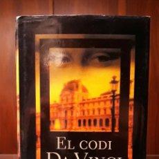 Libros: EL CODI DA VINCI DAN BROWN. Lote 181216648