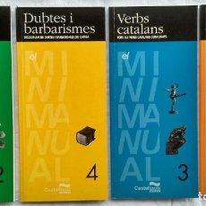 Libros: ORTOGRAFIA / VERBS CATALANS / GRAMATICA / DUBTES BARBARISMES. EDICIONS CASTELLNOU 1988. . Lote 182406900