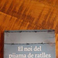 Libros: EL NOI DEL PIJAMA DE RATLLES. Lote 186020290