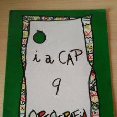 Libros: PUNT I A CAP 9 ORTOGRAFÍA. CICLE MITJA. NUEVO. Lote 189489998