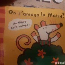 Libros: ON SAMAGA LA MAISY? UN LLIBRE AMB SOLAPES LUCY COUSINS. Lote 190461816