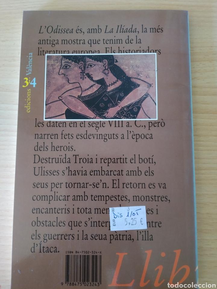 Libros: L Odissea. Homer. Nuevo - Foto 2 - 192696417