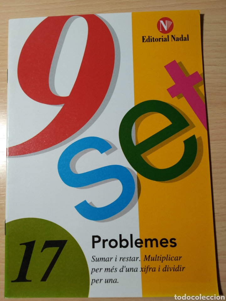 COL 9 SET. PROBLEMES N 17. ED NADAL NUEVO (Libros Nuevos - Idiomas - Catalán )