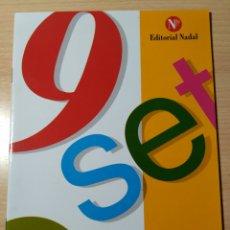 Libros: COL 9 SET. PROBLEMES N 20A. ED NADAL NUEVO. Lote 192945603