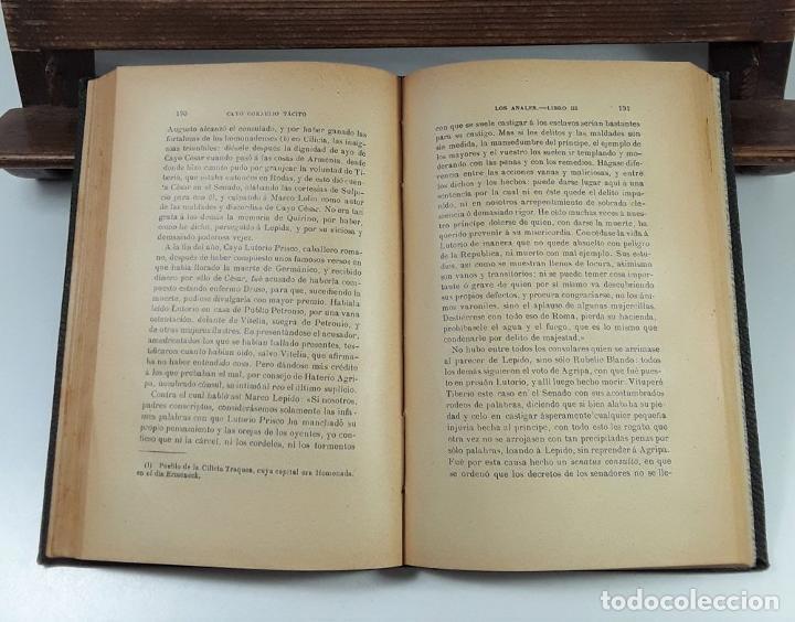 Libros: LOS ANALES DE CAYO CORNELIO TÁCITO. TOMOS I Y II. MADRID. 1913/17. - Foto 5 - 194498271