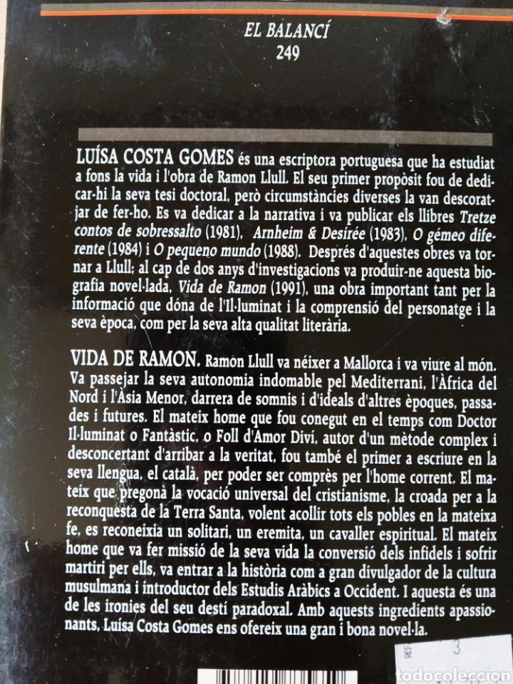 Libros: Vida de Ramon. Luísa Costa Gomes. Catalán - Foto 2 - 196995232