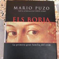 Libros: ELS BORJA, DE MARIO PUZO. Lote 197220382