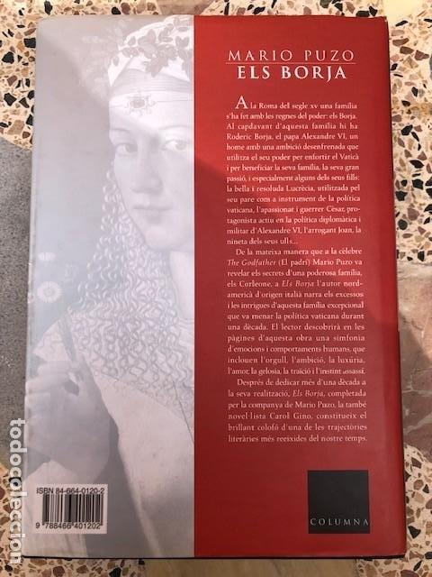 Libros: Els Borja, de Mario Puzo - Foto 2 - 197220382