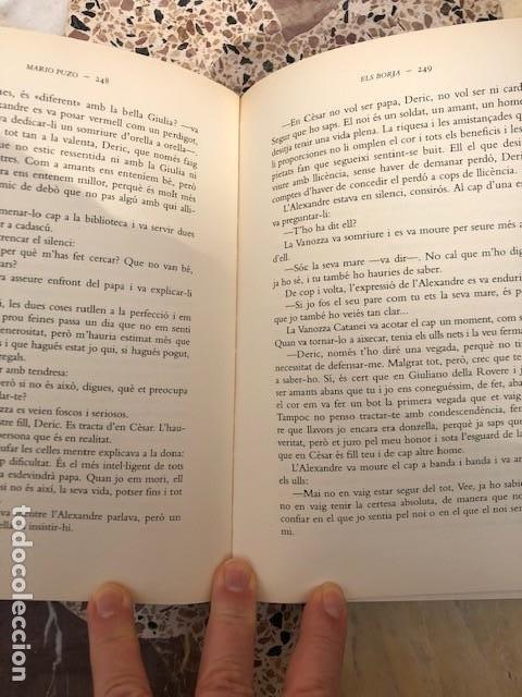 Libros: Els Borja, de Mario Puzo - Foto 3 - 197220382