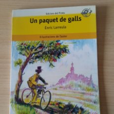 Libros: UN PAQUET DE GALLS. ENRIC LARREULA. CATALÁN. Lote 197264340