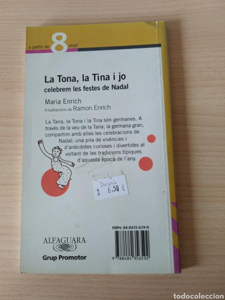 Libros: La Tona, la Tina i jo celebrem les Festes de Nadal. Catalán - Foto 2 - 197311587