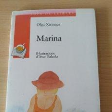 Libros: CAVALL DE MAR/MARINA. OLGA XIRINACS. CATALÁN. LIBRO. Lote 197798411