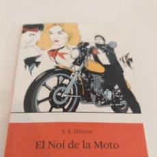 Libros: EL NOI DE LA MOTO - L'ODISSEA - S.E. HINTON - ESTRELLA POLAR. Lote 201527917