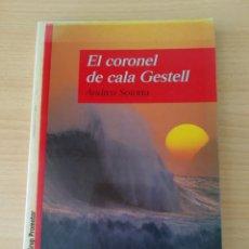 Livres: EL CORONEL DE CALA GESTELL. ANDREU SOTORRA. NUEVO CATÁLAN. Lote 209335103