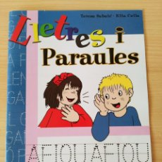 Libros: LLETRES I PARAULES N 4. LLETRA DE PAL. CATALÁN. NUEVO. Lote 222193608