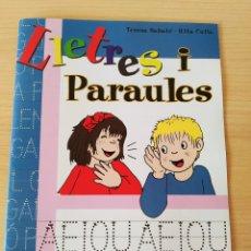 Libros: LLETRES I PARAULES N 5. LLETRA DE PAL. CATALÁN. NUEVO. Lote 222193723