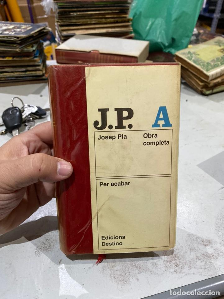 LIBRO JOSEP PLAT OBRA COMPLETA PER ACABAR EDICIÓN EN CATALÁN . DESTINO . VER LAS IMÁGENES (Libros Nuevos - Idiomas - Catalán )