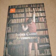 Libros: LIBRO JO CONFESO. Lote 224770406