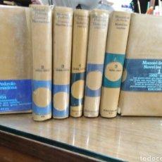 Libros: MANUEL DE PEDROLO-NOVEL-LES CURTES 4 TOMOS,CONTES Y NARRACIONS 3 TOMOS,COMPLETO EDICIONS 62,. Lote 231482685