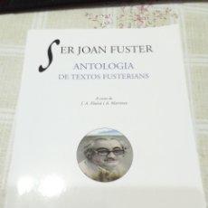 Libros: SER JOAN FUSTER. Lote 234003885