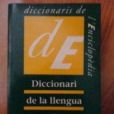 Libros: DICCIONARI DE LA LLENGUA CATALANA. Lote 273509628