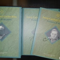 Libros: JOSEP CARNER I CARLES RIBA ,POESIA CATALANA(ED.LIMITADA). Lote 274842178