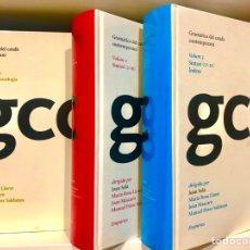 Libros: GRAMÀTICA DEL CATALÀ CONTEMPORANI (EDICIÓ EMPÚRIES). Lote 287807113