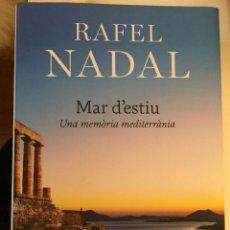Libros: MAR D'ESTIU- UNA MEMÒRIA MEDITERRÀNIA. Lote 294386883