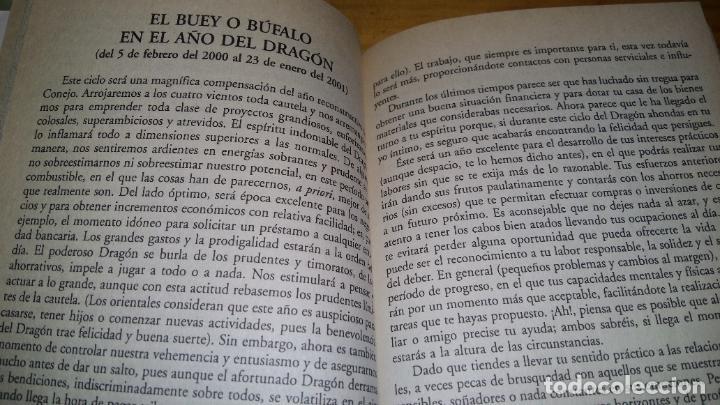 Libros: Horóscopo Chino predicciones 2000 - Foto 2 - 207337631