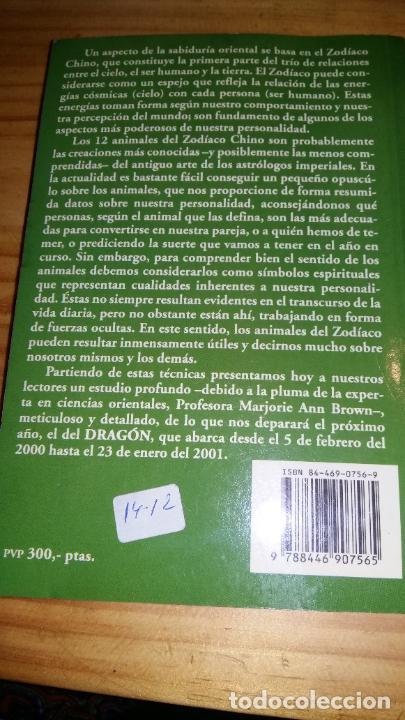 Libros: Horóscopo Chino predicciones 2000 - Foto 3 - 207337631