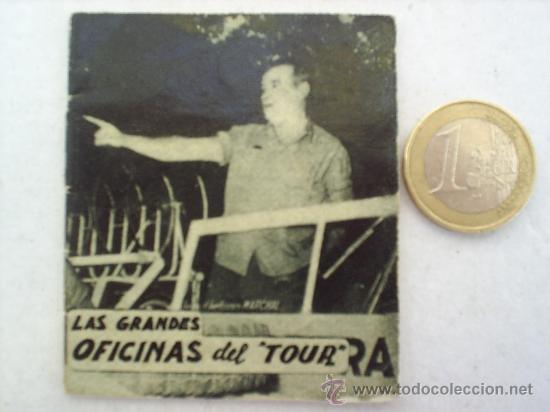 MINILIBRO EDITORIAL DEPORTIVA FHER AÑOS 50 LAS GRANDES OFICINAS DEL TOUR N. 11 (Coleccionismo Deportivo - Libros de Ciclismo)