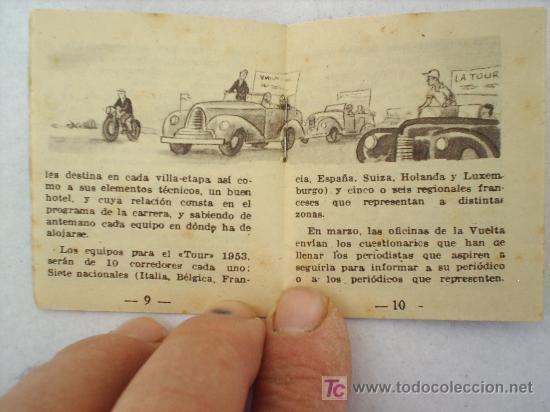 Coleccionismo deportivo: MINILIBRO EDITORIAL DEPORTIVA FHER AÑOS 50 LAS GRANDES OFICINAS DEL TOUR N. 11 - Foto 2 - 16267671