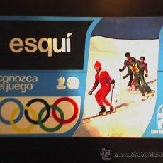 Coleccionismo deportivo: ESQUI (CONOZCA EL JUEGO) - PRÓLOGO DEL LORD JOHN HUNT - EDICIONES AURA - UK. Lote 27272941