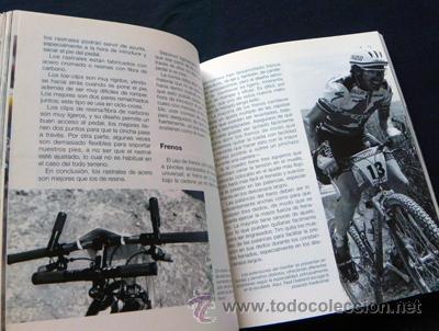 Coleccionismo deportivo: LIBRO - MOUNTAIN BIKE DE COMPETICIÓN - CICLISMO BICICLETA DE MONTAÑA DEPORTE BICIS MUY ILUSTRADO - Foto 8 - 25824216