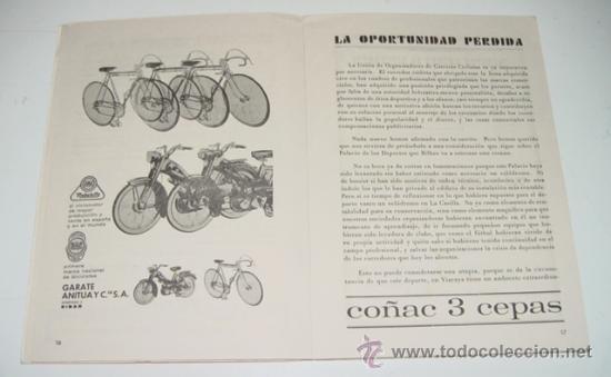 Coleccionismo deportivo: Sociedad Ciclista Bilbaina - año 1968. - Ciclismo - contiene los eventos celebrados en Bilbao durant - Foto 3 - 24953307
