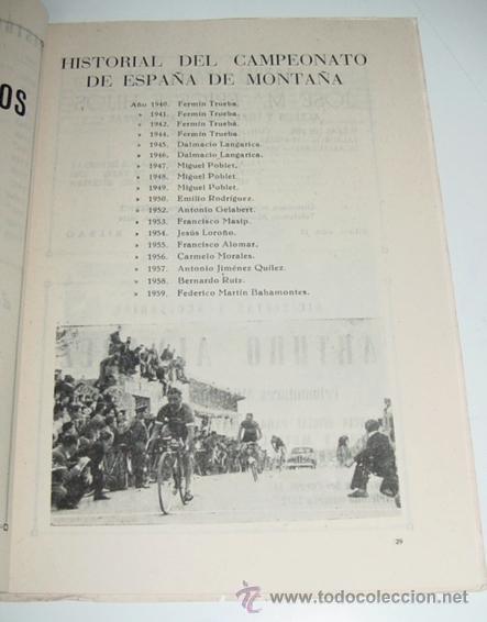 Coleccionismo deportivo: Sociedad Ciclista Bilbaina - año 1959. - Ciclismo - contiene los eventos celebrados en Bilbao durant - Foto 2 - 24953424