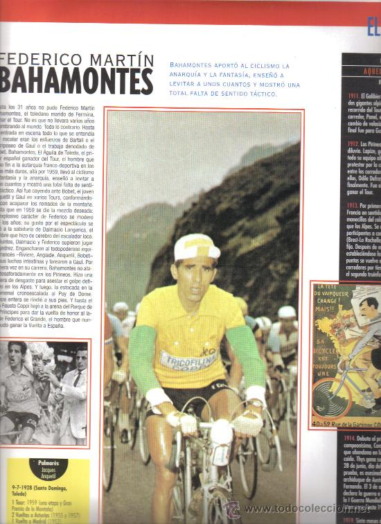 17 BONITAS LAMINAS DE CICLISMO DE LA HISTORIA DEL TOUR-AÑO 1995 (Coleccionismo Deportivo - Libros de Ciclismo)