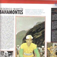 Coleccionismo deportivo: 17 BONITAS LAMINAS DE CICLISMO DE LA HISTORIA DEL TOUR-AÑO 1995. Lote 26533336