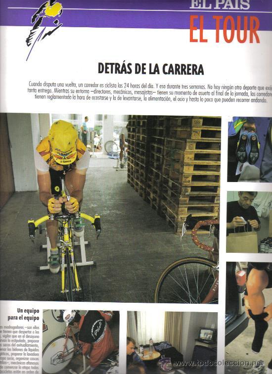 Coleccionismo deportivo: 17 BONITAS LAMINAS DE CICLISMO DE LA HISTORIA DEL TOUR-AÑO 1995 - Foto 4 - 26533336