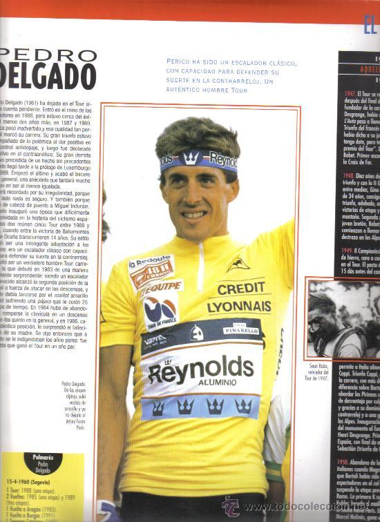 Coleccionismo deportivo: 17 BONITAS LAMINAS DE CICLISMO DE LA HISTORIA DEL TOUR-AÑO 1995 - Foto 5 - 26533336