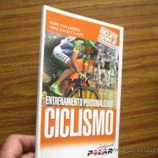 Coleccionismo deportivo: CICLISMO, ENTRENAMIENTO PERSONALIZADO, ADRIE VAN DIEMEN Y OTRO ( OFERTA. Lote 28664639